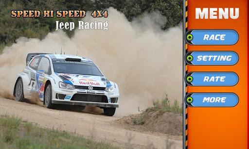 Speed Hi Speed 4X4 Jeep Racing
