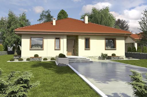 projekt Sroka III bez garażu B