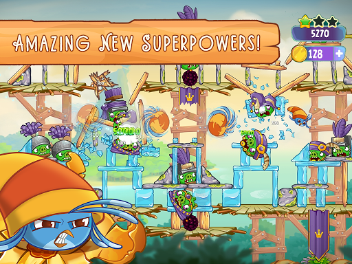 Angry Birds Slingshot Stella screenshot 17