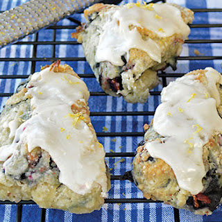 Blueberry Scones from Everyday Vegan Eats