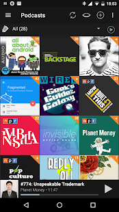 Podcast Addict- screenshot thumbnail