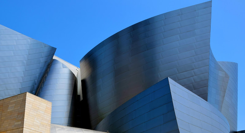 Walt Disney Concert Hall Los Angeles di firestorm