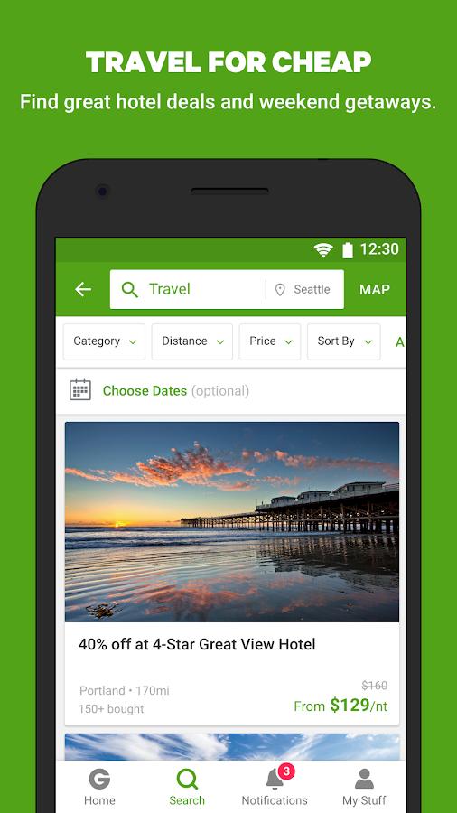 Screenshots of Groupon - Shop Deals & Coupons for iPhone