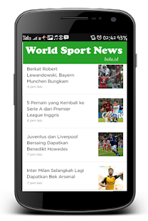 Bola.id : News Sports Up to date - náhled
