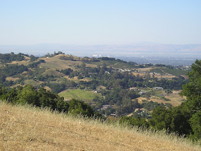 Photo: 2009 View north from Paul Masson winery. Saratoga, CA. Inspiration for next painting.