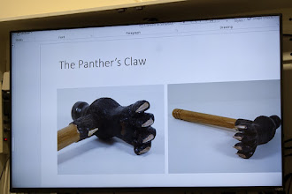 Photo: The Panther's claw has a dew claw as well.