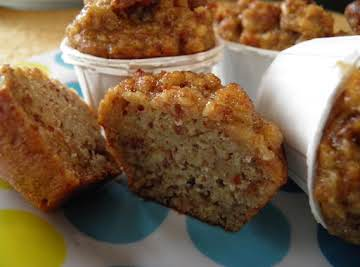 """Lily's """"Cup-Cake"""" Bread Pudding"""