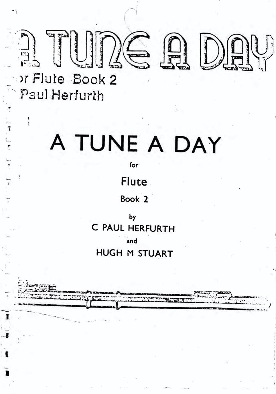 دانلود کتاب دوم فلوت A Tune A Day