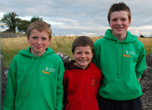 Photo: David, Jack & Daniel Ryan, Moycarkey Coolcroo A.C. supporters for the night