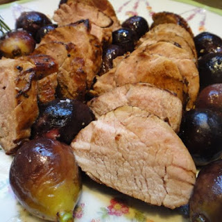 PORK TENDERLOIN WITH ROASTED FIGS