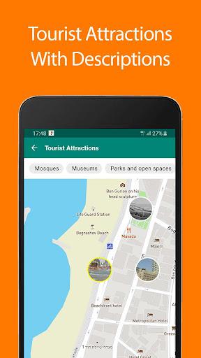 Download Tel Aviv Offline Map and Travel Guide 1.35 1