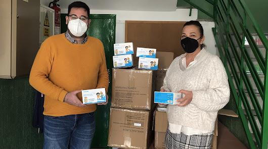 Más seguridad en las aulas con 23.000 mascarillas y purificadores de aire