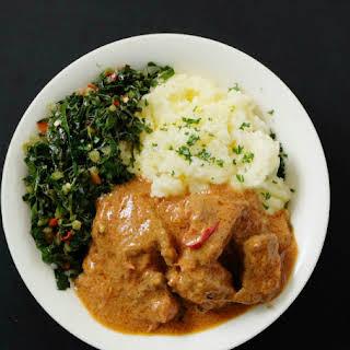 Spicy African Beef Nut Stew.