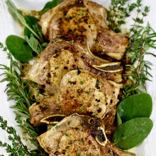 Cider-Glazed Pork Chops.