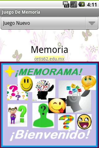 15CT62 Juego De Memoria