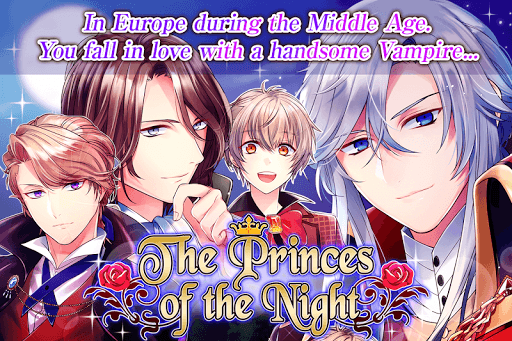 The Princes of the Night : Romance otome games 1.5.0 de.gamequotes.net 3