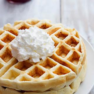 Greek Yogurt Waffles Recipe