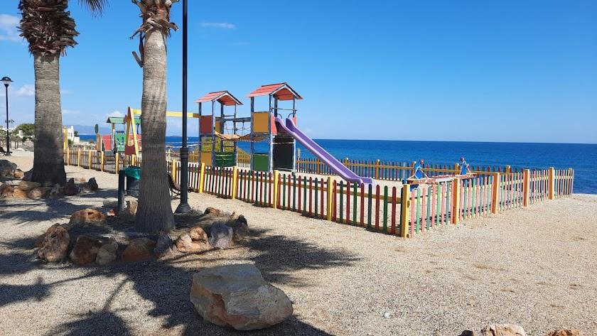Parque infantil de Mojácar, en una imagen de archivo.