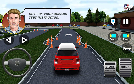 City Car Driving & Parking School Test Simulator u0635u0648u0631 1