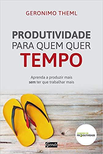 capa do livro produtividade para quem quer tempo