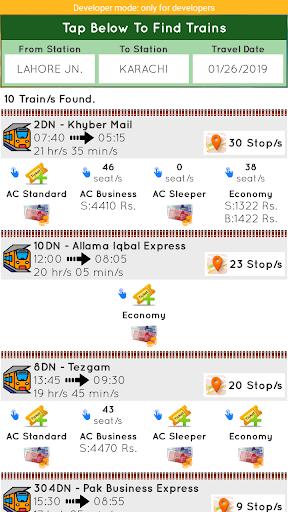 Pakistan Railways Official 4.4 screenshots 2