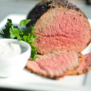 Roast Beef with Horseradish Cream