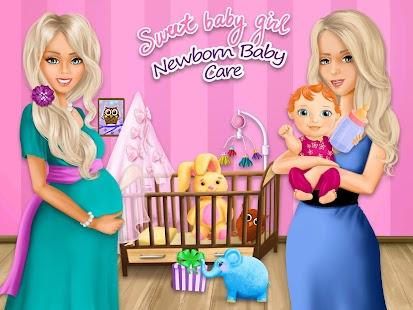 Download Sweet Baby Girl Newborn Baby For PC Windows and Mac apk screenshot 6