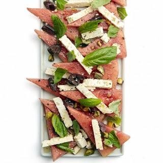 Watermelon, Feta and Pistachio Salad Recipe