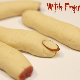 Creepy Witch Finger Cookies