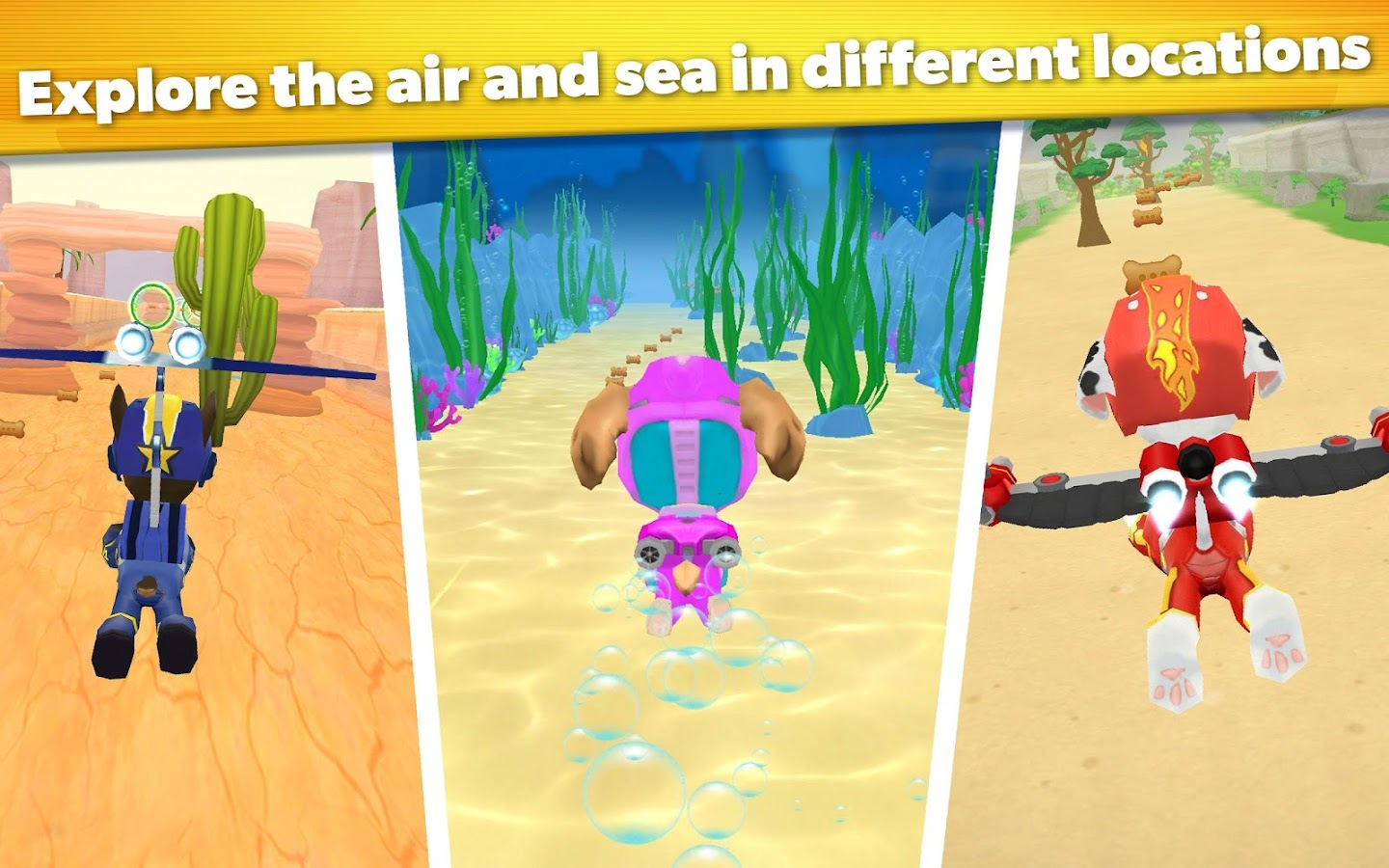 PAW Patrol Air and Sea Adventures- screenshot