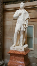 Photo: Sam Houston, 1793-1863. Donated to the National Statuary Hall Collection by Texas in 1905 - http://www.aoc.gov/capitol-hill/national-statuary-hall-collection/sam-houston