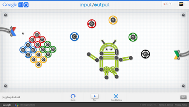 Photo: Play this one to watch Android juggle a Chrome fast particle. http://goo.gl/9lV2s