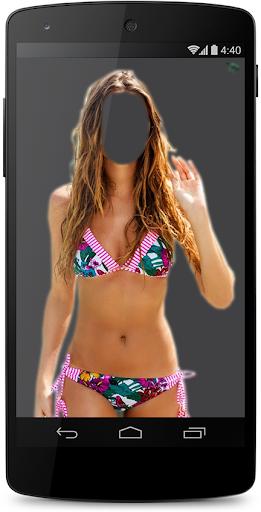 Woman Bikini Suit Photo Maker