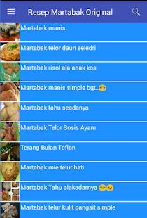 Resep Martabak Original - náhled