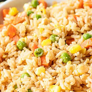 Egg Fried Rice Simple Recipes.