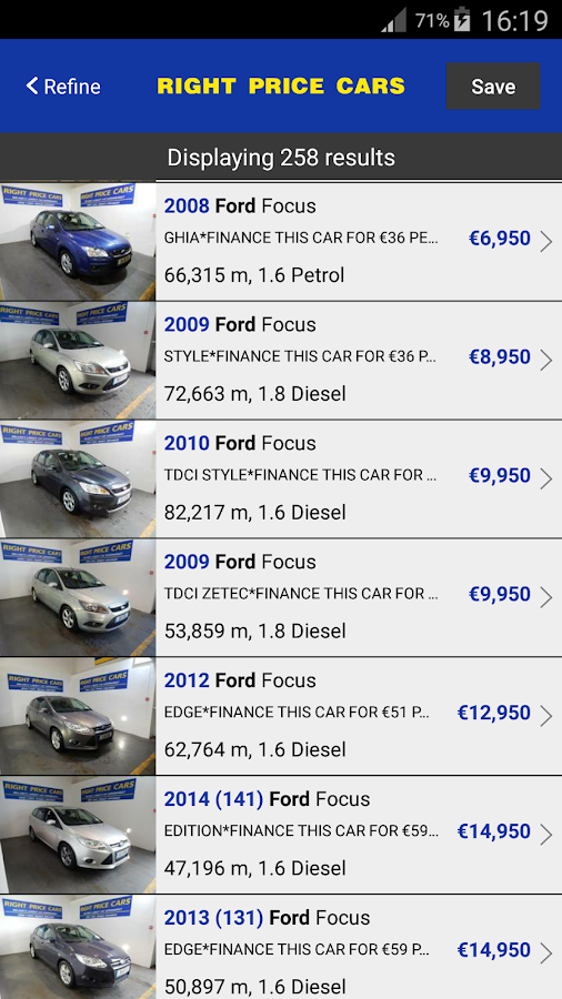 Right Price Cars- screenshot