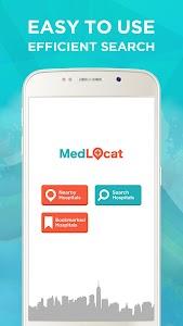 Med Locat - Hospital Locator screenshot 0