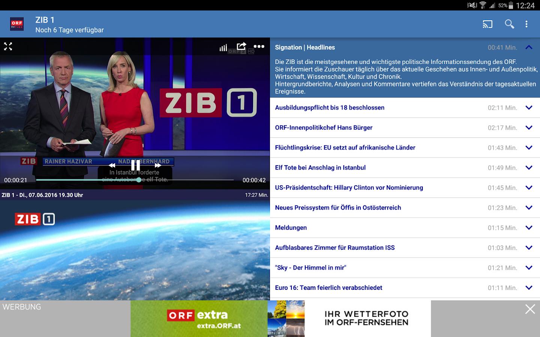 Orf Mediathek App