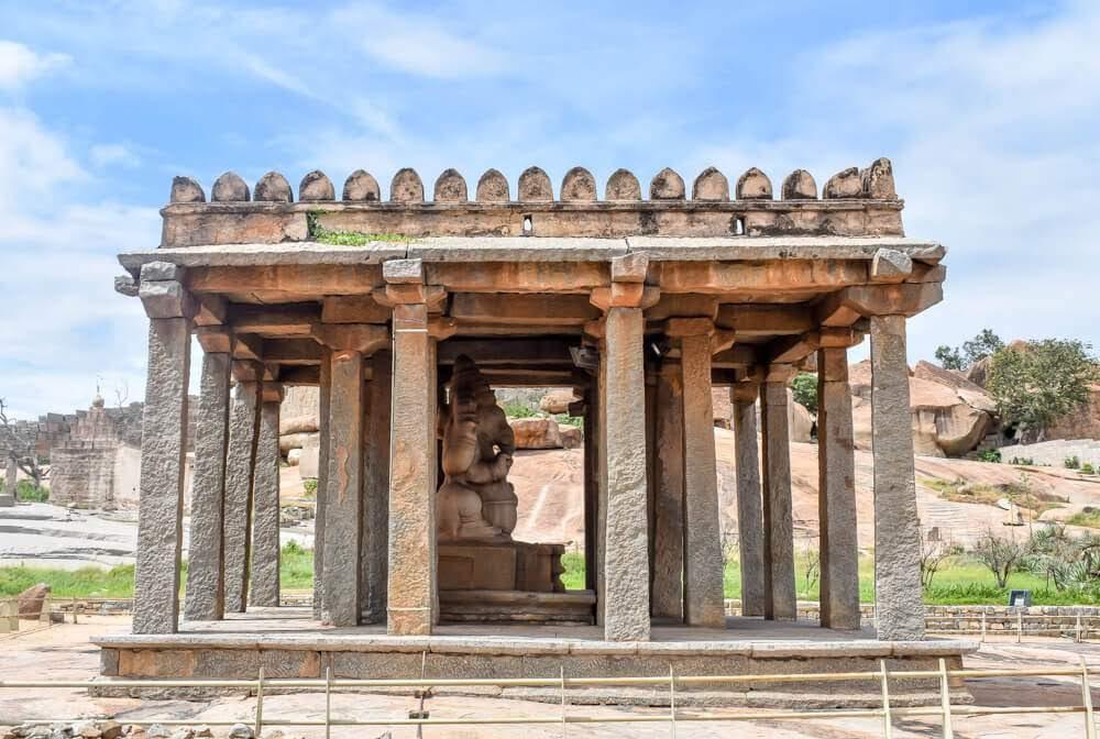 Sasivekalu+Ganesh+temples+hampi+pics