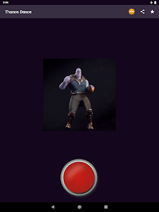 Thanos Dance Button Screenshot