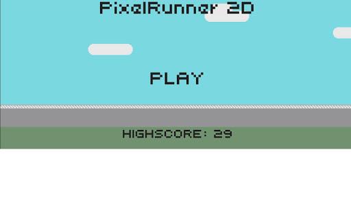 Pixel Runner 2D