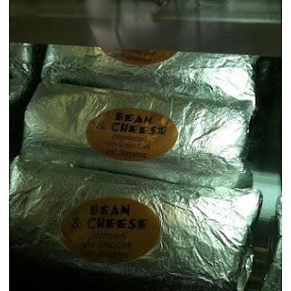 Bean-and-Cheese Burritos.