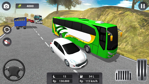 Modern Bus Parking 3D screenshot 2