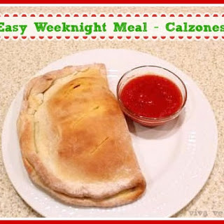 Looking for an Easy Weeknight Meal? Try this Calzone Recipe!