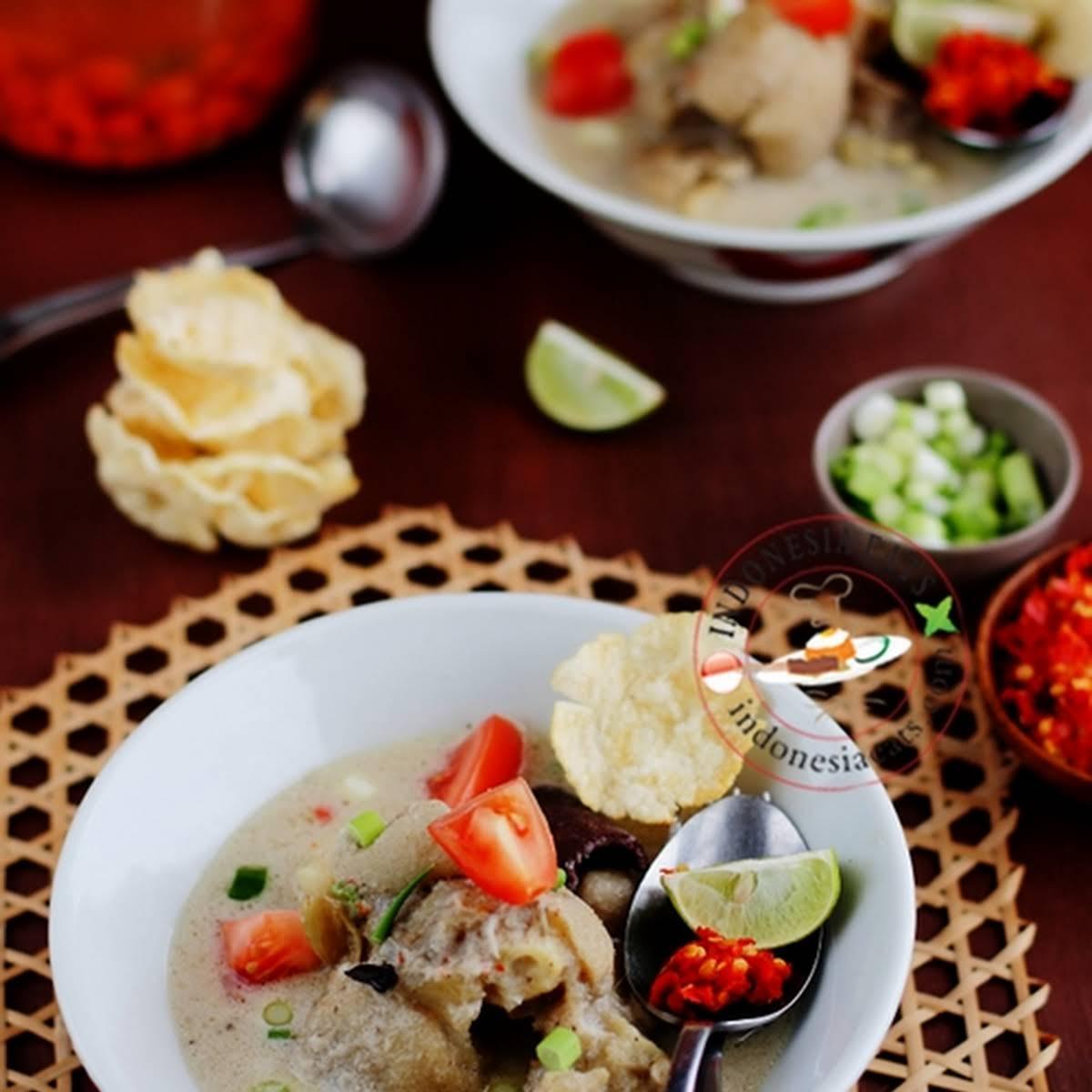 Sop Kaki Kambing Jakarta Recipe (Jakarta-Style Goat Feet Soup)