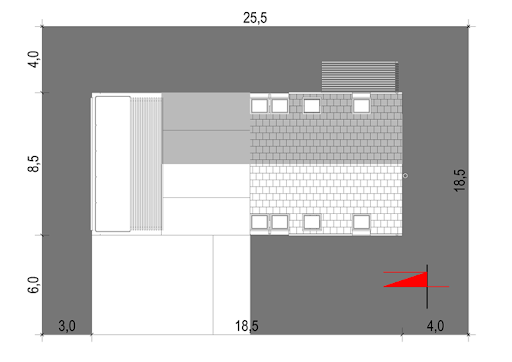 House 27 - Sytuacja