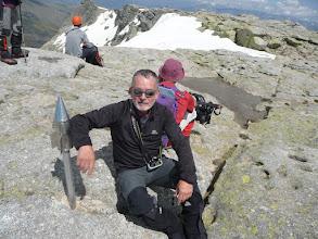 Photo: En la cima del Canchal de la Ceja