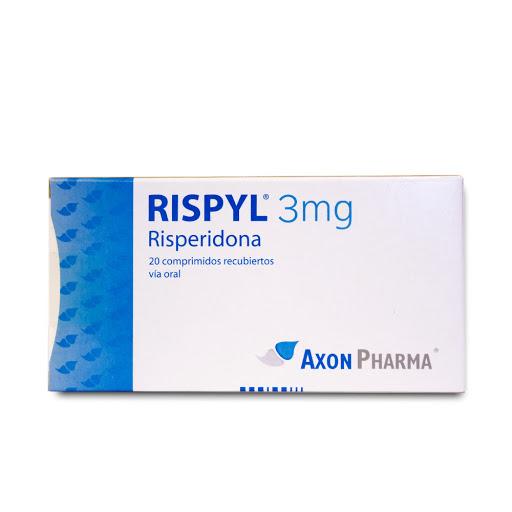 risperidona rispyl 3 mg 20tabletas axon pharma