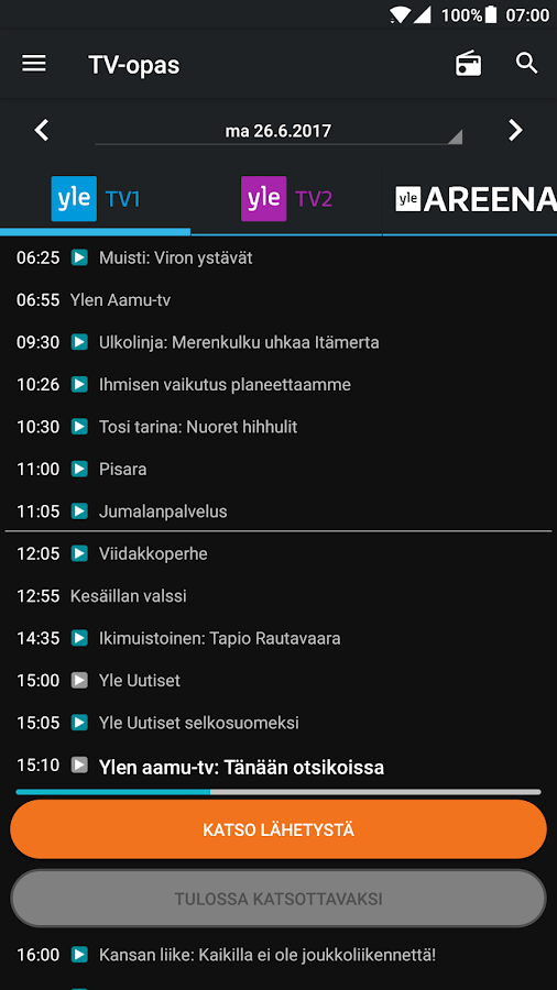 Yle Areena Downloader Android