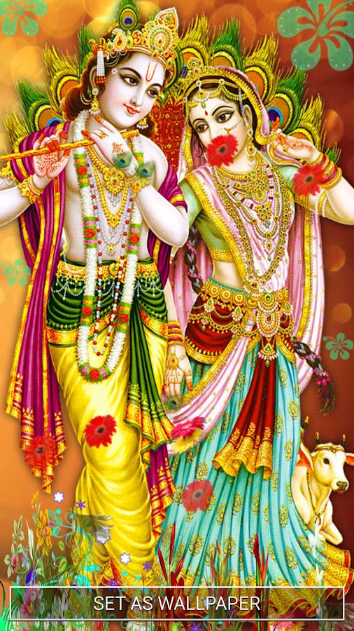 Krishna Radha Love Wallpaper Radha Krishna W...